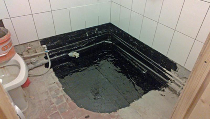 Пол в ванной комнате своими руками