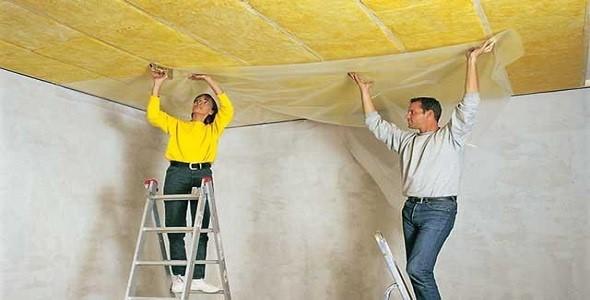 Гидроизоляция потолка - купить гидроизоляционные материалы для потолка